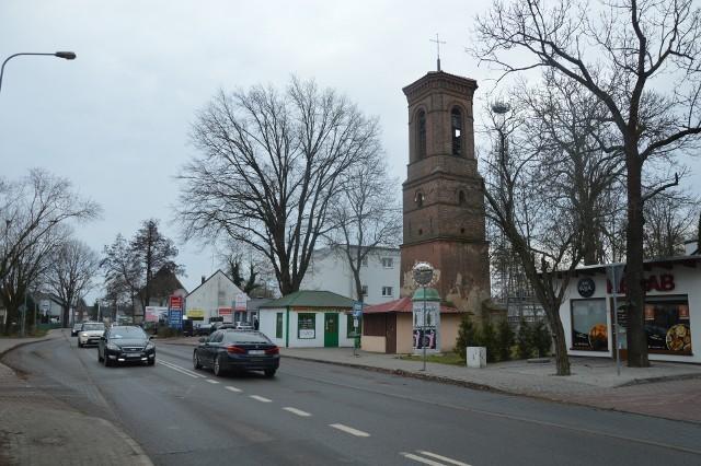 Stara dzwonnica przy ul. Jędrzychowskiej w Zielonej Górze