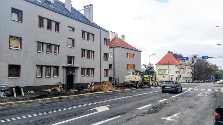 Przebudowa chodnika wzdłuż południowej strony ul. 1 Maja w Opolu