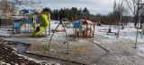 Podglądamy, jak postępują prace na Podzamczu w Wąbrzeźnie oraz jak wygląda odnowiony park na Górze Zamkowej