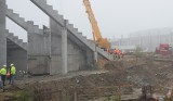 Budowa stadionu dla Radomiaka. Dużo ciężkiego sprzętu, trwają prace przy trybunie północnej (ZDJĘCIA)