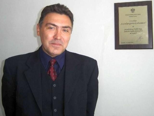 dyrektor szpitala w Łapach