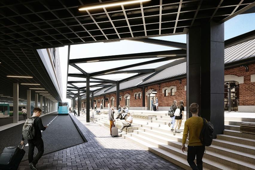Jest pomysł na nowy dworzec PKS w Rzeszowie. A nad nim: mieszkania, galeria handlowa czy usługi i potężny parking [WIZUALIZACJE]