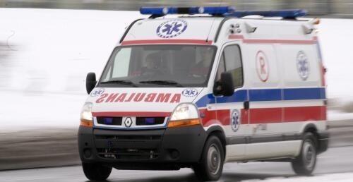 Cała rodzina trafiła do kędzierzyńsko-kozielskiego szpitala.