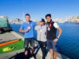 Piotr Myszka czwartym żeglarzem mistrzostw Europy w olimpijskiej klasie RS:X w Vilamourze. Zofia Klepacka z brązowym medalem