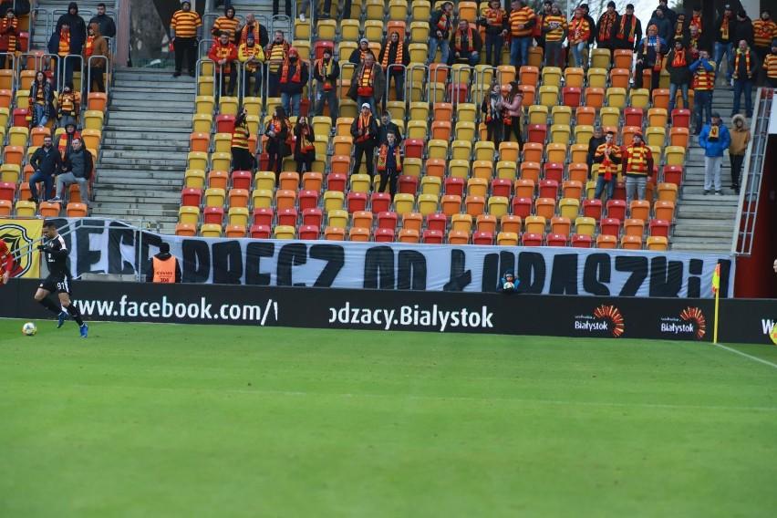 Jagiellonia przegrała w ekstraklasie z Koroną Kielce 1:3. Na...