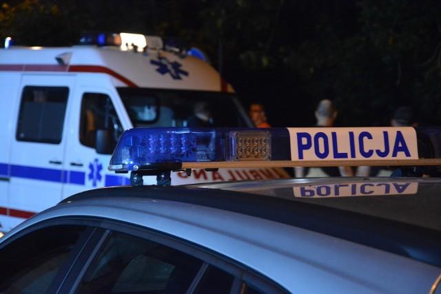 Trwa ustalanie przyczyny wypadku motocyklu w Wituni w gminie Więcbork. Poszkodowani to kierowca i pasażer