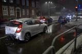 Kolizja na ulicy Tuwima w Słupsku. Sprawca był pijany