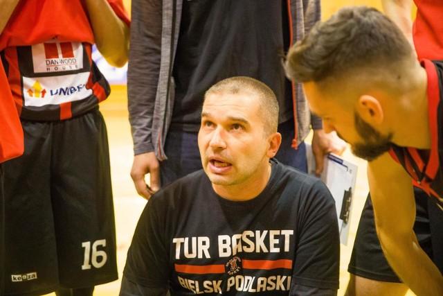 Trener Tura Kamil Zakrzewski był bardzo zadowolony ze swojej drużyny