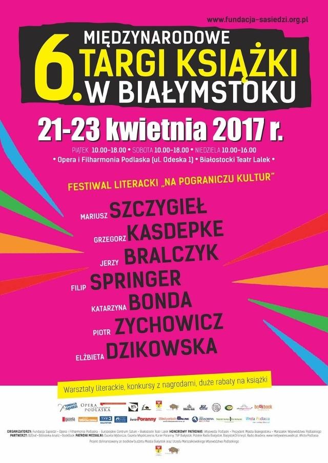 Międzynarodowe Targi Książki odbędą się między 21 a 23 kwietnia w Operze i Filharmonii Podlaskiej przy ul. Odeskiej 1