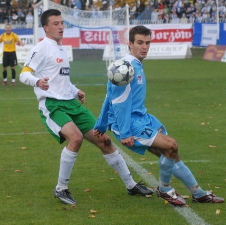 Z niecierpliwością czekamy na kolejne trafienie Emila Drozdowicza. Napastnik GKP ostatni raz zdobył gola 29 września, gdy pokonał bramkarza GKS-u Katowice.
