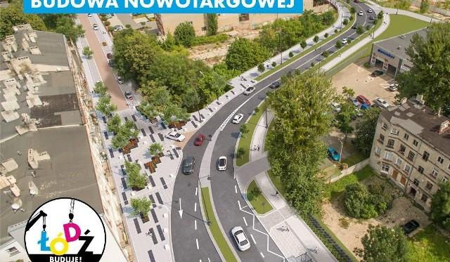 Tak miała wyglądać Nowotargowa. Inwestycję wstrzymano i być może ten projekt zostanie wstrzymany.