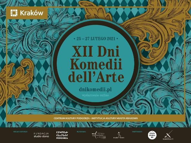 Krakowskie Dni Komedii dell'Arte w tym roku odbędą się od 25 do 27 lutego na internetowej platformie Play Kraków