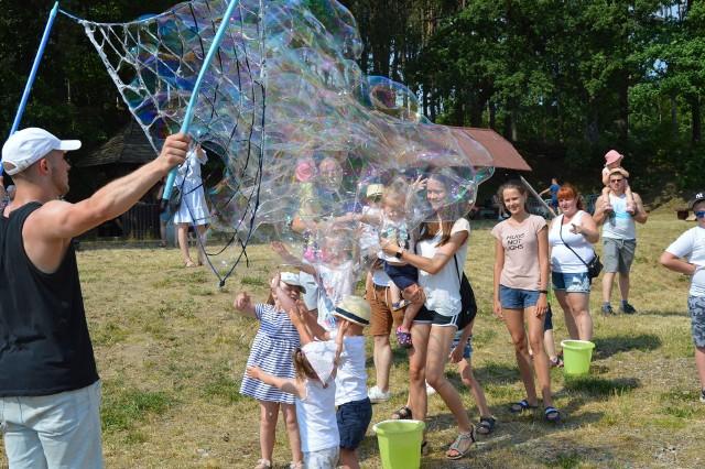 Festiwal baniek mydlanych w Bytowie.
