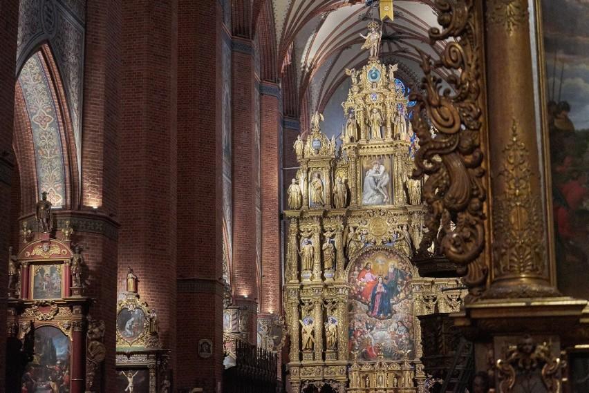 Bazylika Katedralna w Pelplinie – modernizacja oświetlenia