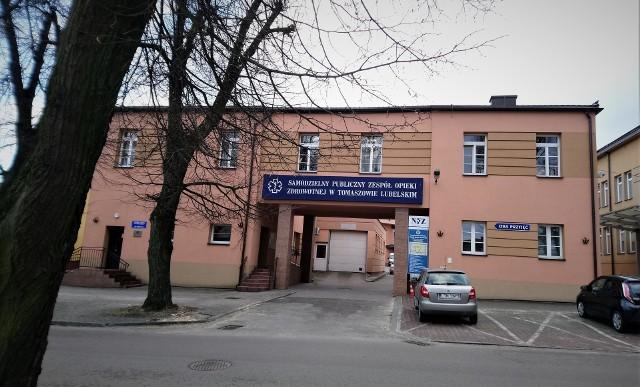 Do zdarzenia doszło w szpitalu w Tomaszowie Lubelskim