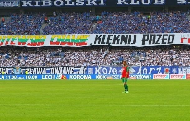 """Akt oskarżenia za transparent """"Litewski chamie klęknij przed polskim panem"""""""