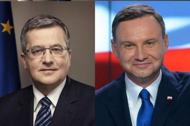 Debata prezydencka 2015 online. Komorowski vs Duda....