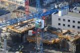 W Katowicach powstają trzy wieże. To gigantyczny Global Office Park. Konstrukcja 100-metrowych wysokościowców pnie się w górę