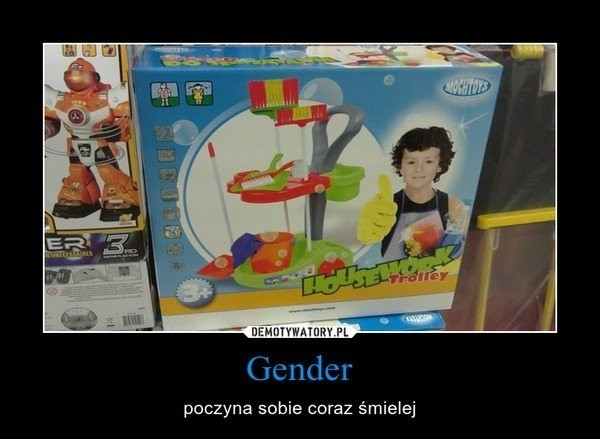 Demotywatory o gender