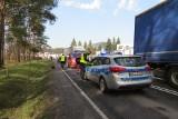 Kierowca, który na ul. Sikorskiego w Brodnicy śmiertelnie potrącił kobietę, usłyszał zarzuty