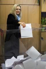 Wybory samorządowe 2018 Kraków. Małgorzata Wassermann uczestniczyła w wyborach [ZDJĘCIA]