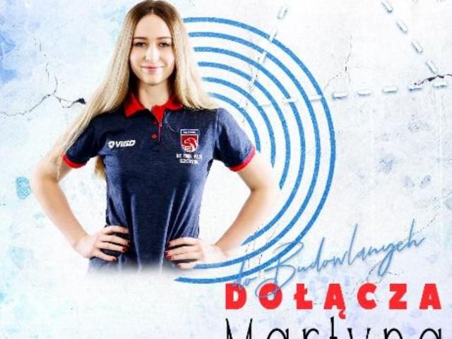 Martyna Łazowska zasili barwy Grot Budowlanych