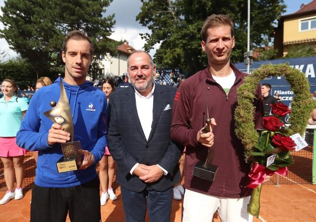 Krzysztof Bobala organizuje Pekao Szczecin Open od pierwszej edycji.