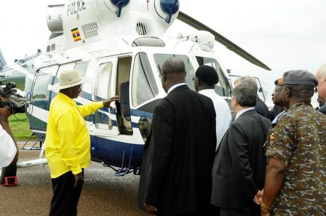 Sokół w barwach Ugandy trafił już do klienta