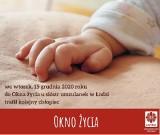 Dziecko w Oknie życia w Łodzi. Maleńki Józef to kolejny uratowany noworodek. Gdzie są okna życia? Jak działają okna życia? 16.12.2020