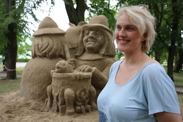 W plenerze uczestniczyła m.in. Elżbieta Blanka ze Szczecina