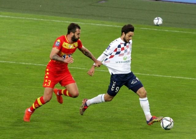 Jesus Jimenez w piątek w meczu 29. kolejki PKO Ekstraklasy poprowadził swój zespół do zwycięstwa z Jagiellonią (3:1). Strzelił dwa gole i zaliczył asystę.