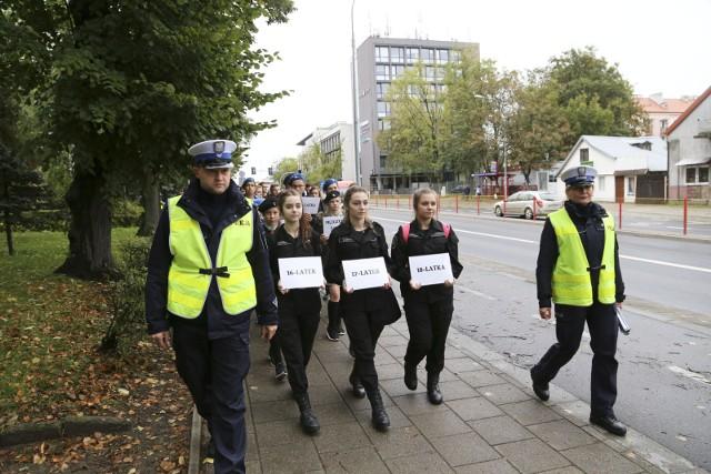 Dzień Bez Ofiar Śmiertelnych Wypadków Na Drogach. Happening w Białymstoku