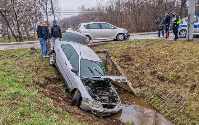 To po tym wypadku w Racławówce w gm. Boguchwała 19-latka trafiła do szpitala.