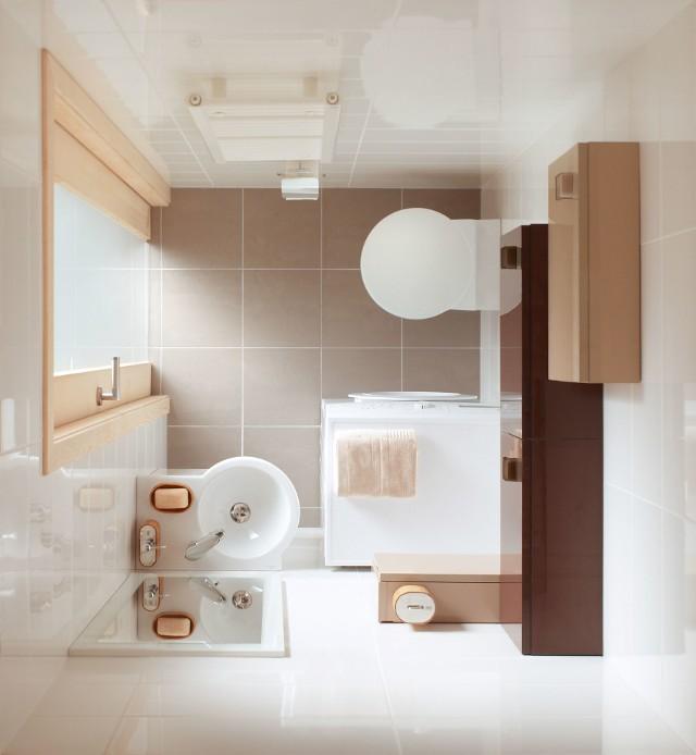 Meble do małej łazienkiMeble w małej łazience też muszą być małe.