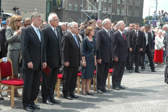10 lat temu 50. rocznicę Poznańskiego czerwca 1956 roku świętowali w stolicy Wielkopolski m.in. prezydenci Niemiec, Czech, Słowacji i Węgier. Władze tych ostatnich jutro znów się pojawią