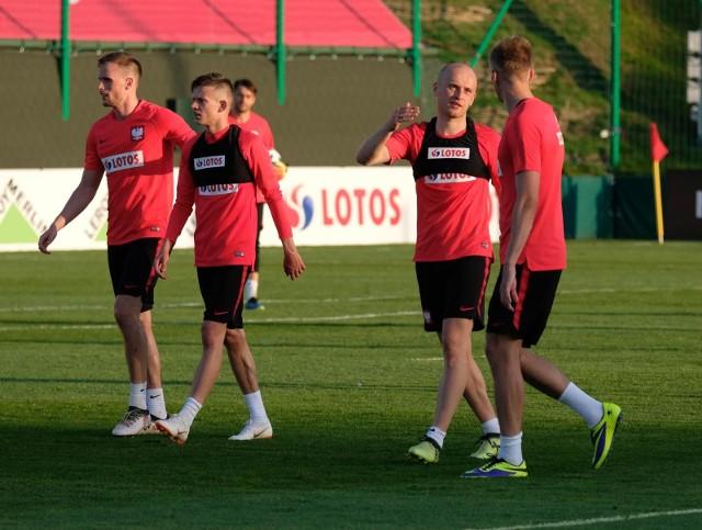 Michał Pazdan (drugi z prawej) jest jedynym krakowianinem w kadrze na rosyjski mundial