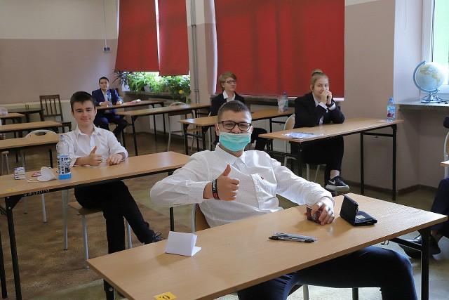 Egzamin ósmoklasisty 2020 w SP 34 w Łodzi