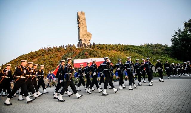 80. rocznica wybuchu II wojny światowej na Westerplatte