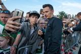 Rafał Wolski rozpoczął rehabilitację. Piłkarz Lechii Gdańsk stawia pierwsze kroki [wideo]
