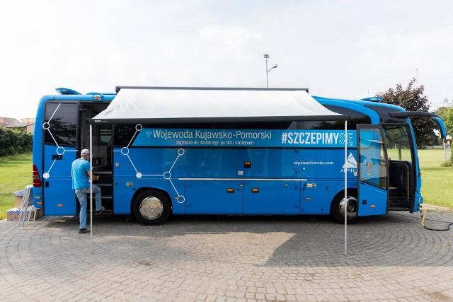 Szczepionkowóz zaparkuje w parku Zdrojowym już w sobotę, 7 lipca