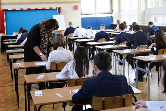 Egzamin gimnazjalny w Krakowie