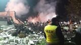 Wybuch gazu w domu koło Łodzi. W gruzach domu w Janówce odnaleziono ciała ofiar. Ranne dziecko. Informacje: wybuch gazu w Janówce 9.10.2019