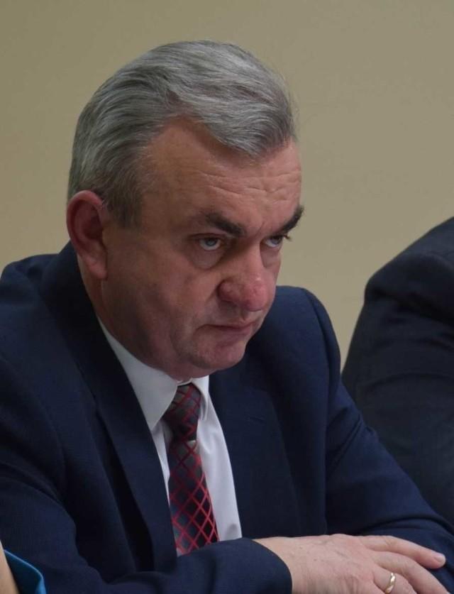 Jerzy Makowski, wójt gminy Stargard