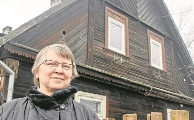 Barbara Kaczyńska przekazała urzędnikom projekt odnowienia domu przy ul. Wiktorii 5. Zakłada on odtworzenie tzw. koronek. To detale architektoniczne widoczne m.in. pod okapem i w narożnikach budynku. Koronek próżno szukać na innych bojarskich chatach.