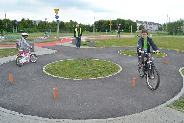 Zajęcia w miasteczku rowerowym mają być prowadzone cykliczne.