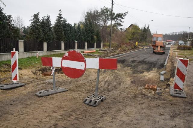 Budowa ulicy Przylep - Hetmańskiej w Zielonej Górze