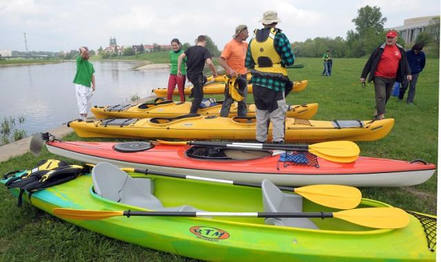 W sobotę (3 września) dobije do przystani 60 kajaków z uczestnikami pierwszego metropolitarnego spływu, na trasie ze Śremu do Poznania