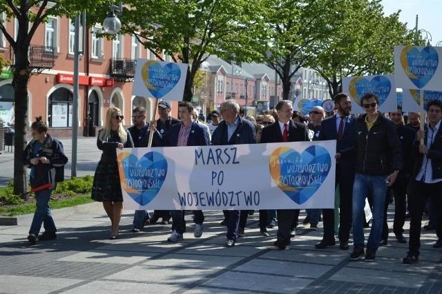 1 maja 2016 roku w Częstochowie odbył się symboliczny Marsz po Województwo