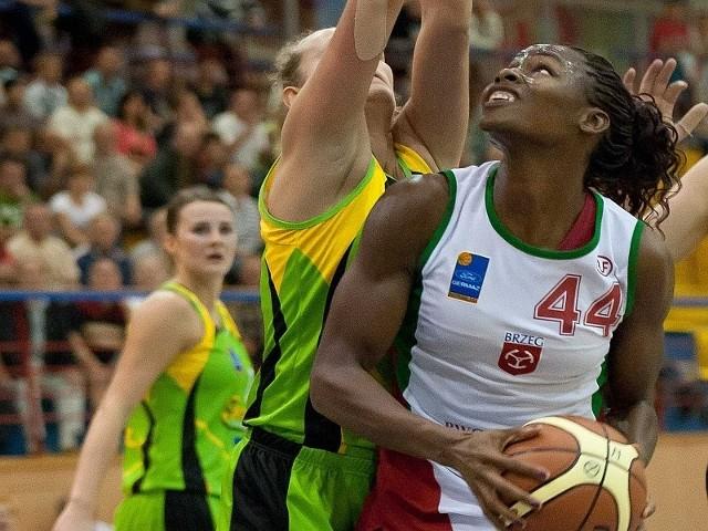 Ebony Ellis zdobyła w Poznaniu 17 punktów.