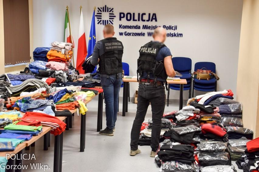 Gorzowscy policjanci wraz z funkcjonariuszami straży...
